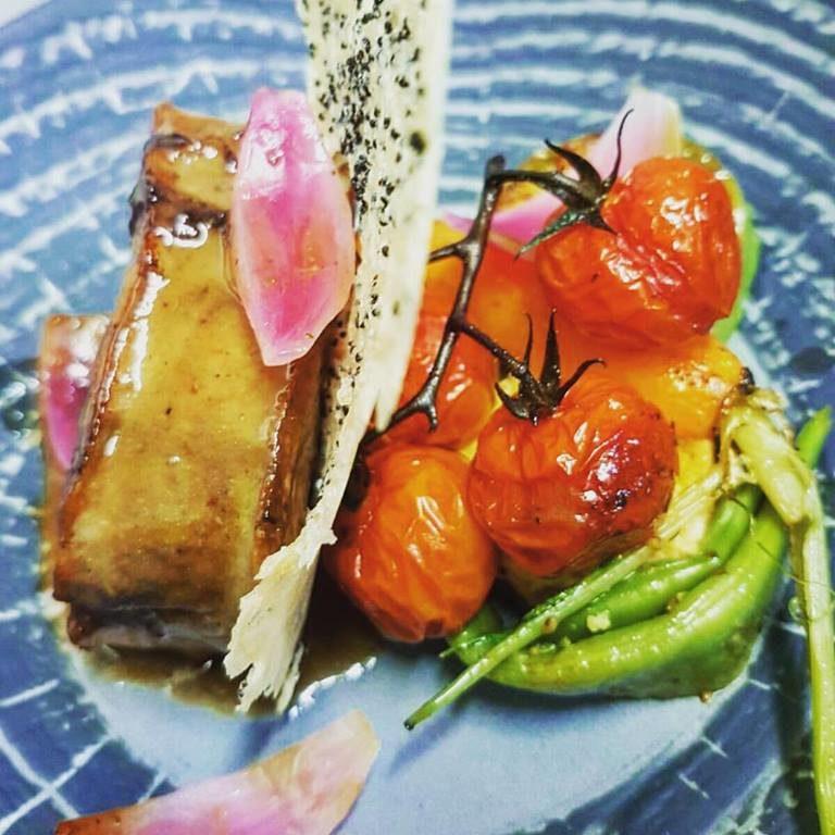 Paleron de Veau, Restaurant Sur Le Green